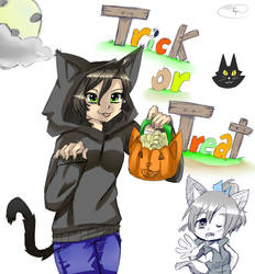 Happy Halloween! Trick or Treat!! by roleplay14