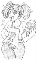 Hataraki Ari's Sukimi by MckayComix