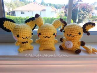 pikachu evolution by valeriarin