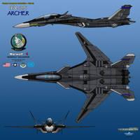 IFX-25 Archer_Warwolf One_01 by haryopanji