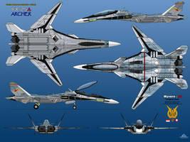 IFX-25A Archer by haryopanji