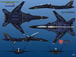 F/A-25J Archer Zero Ridgebacks by haryopanji
