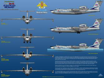 Beriev A-40 (Be-42) Albatross / Mermaid - Part 2 by haryopanji