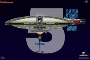 Thunderbird 5 - Stealth Space Monitor by haryopanji