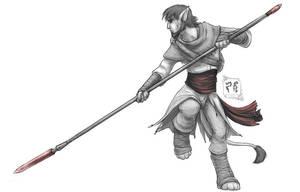 GraySketch: Imfah, the Nameless by 13blackdragons