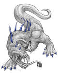 GraySketch: Khan by 13blackdragons