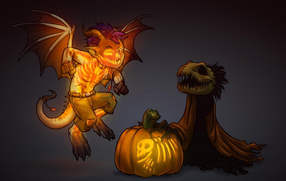 Happy Halloween everyone~! by 13blackdragons
