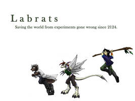 Labrats WP 2- The chace by 13blackdragons