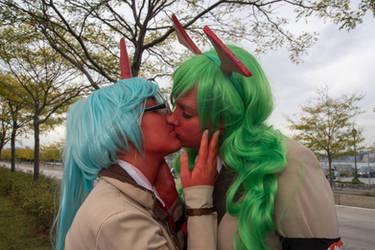 Kiss me, dear sister.. by SunshineAlways