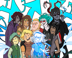 Chaos Driven Group! by Pheoniic
