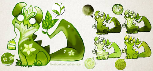 Matcha Monster by Pheoniic