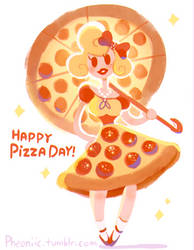 Happy National Pizza Day! by Pheoniic