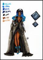 Glitter Empress Zashira! by Sir-Frog