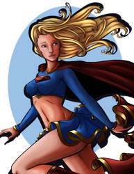 Supergirl by Sir-Frog