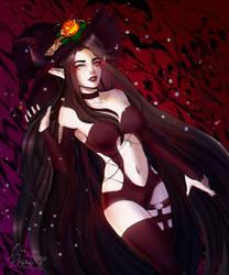 Secret Halloween Jill by Demonion