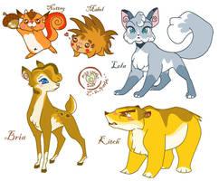 Random ami animals by LAUBoZ