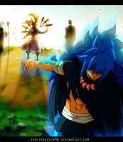 Fairy Tail 470 - Acnologia vs God Serena by IchigoVizard96