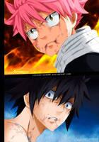 Fairy Tail 500 - Gray vs Natsu (END) coming soon by IchigoVizard96