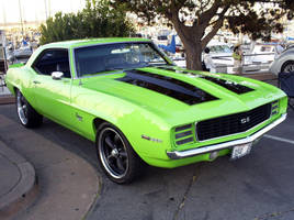 Camaro Z28 SS 350 lime green by Partywave