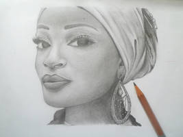African Beauty by lushinnickii