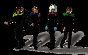 STO Uniform - Now In Colour by DopiusFishius