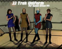 JJ Trek for Space Dress for V4 by DopiusFishius