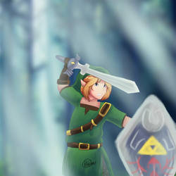 Link : The Legend Of Zelda by Lionking17