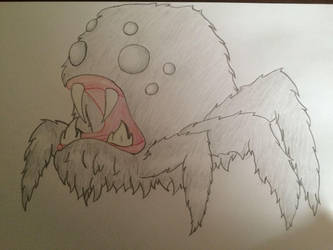 Spider by Ehlmek