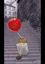 Le ballon rouge by DarkKokeshi