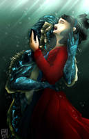 The Shape Of Water by Karra-shi