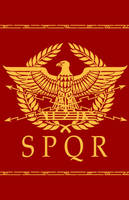 Roman Eagle Design by Erebus-art