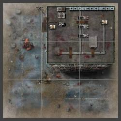 Walking Dead boardgame tile by Erebus-art
