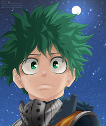 Boku No Hero Academia 159: Midoriya by AlexanJ