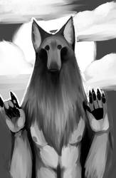 Coyote Mudra by Chynite