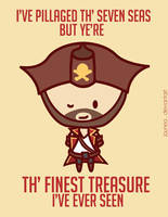 Gangplank: League of Valentines by Jaunea