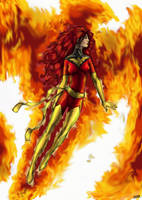 Dark Phoenix by warsram