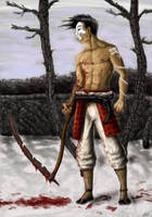 Skythe warrior by warsram
