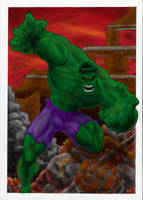 HULK SMASH by warsram
