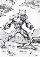 werewolf sketch by warsram