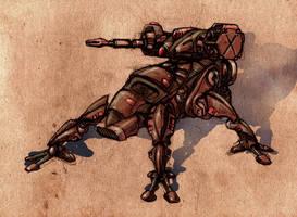 Robosnipertank by Bristow-Bailey