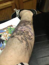 Goku Tattoo by RuokDbz98