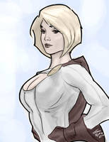 Power Girl by mirrors519