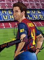 Cesc Fabregas by akyanyme