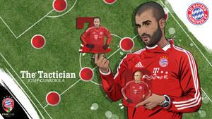 Josep Guardiola FC Bayern Munchen vector by akyanyme