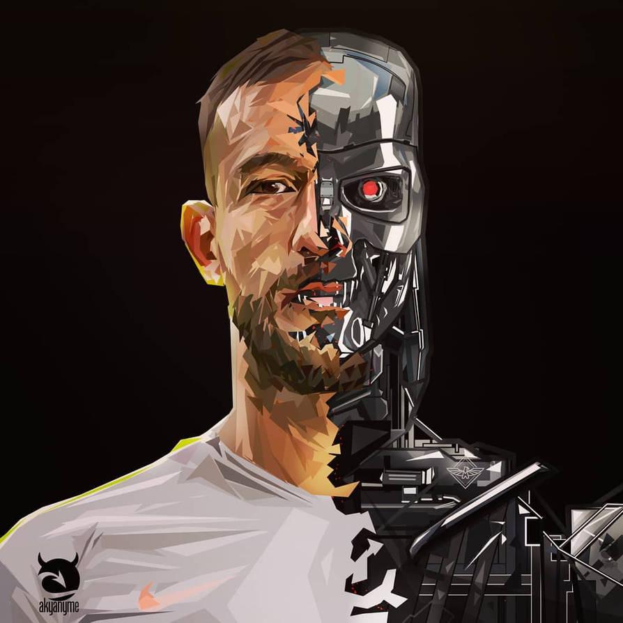 Emanuel Aguilera T800 Terminator vector by akyanyme