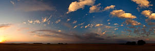 Popcorn Sunset by kylewright