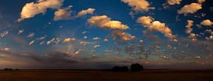 Popcorn Sunset II by kylewright