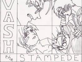 Vash the Stampede - Trigun Project 2 by Lizzie85