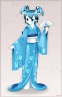 MLAATR: Jenny in kimono by Neon-Juma