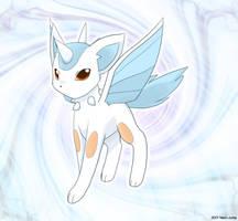 Fake pokemon: Auroreon by Neon-Juma